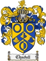 Primary image for Chadall Family Crest / Coat of Arms JPG or PDF Image Download