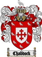 Primary image for Chaddock Family Crest / Coat of Arms JPG or PDF Image Download