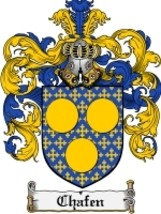 Chafen Family Crest / Coat of Arms JPG or PDF Image Download - $6.99