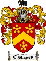 Primary image for Challmers Family Crest / Coat of Arms JPG or PDF Image Download