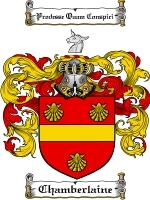 Primary image for Chamberlaine Family Crest / Coat of Arms JPG or PDF Image Download