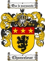 Primary image for Chancelour Family Crest / Coat of Arms JPG or PDF Image Download