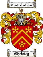 Primary image for Cheisley Family Crest / Coat of Arms JPG or PDF Image Download
