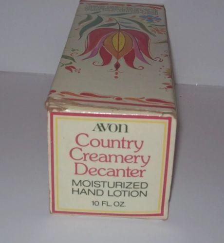 Avon Country Creamery Decanter