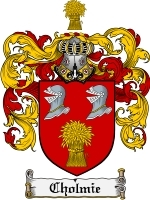 Primary image for Cholmie Family Crest / Coat of Arms JPG or PDF Image Download