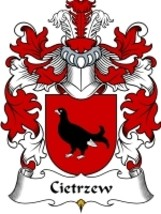Cietrzew Family Crest / Coat of Arms JPG or PDF Image Download - $6.99