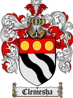 Clemesha coat of arms download
