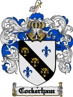 Cockerham Family Crest / Coat of Arms JPG or PDF Image Download
