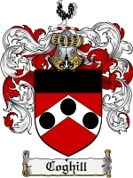 Coghill Family Crest / Coat of Arms JPG or PDF Image Download
