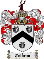 Primary image for Colbran Family Crest / Coat of Arms JPG or PDF Image Download
