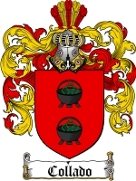 Primary image for Collado Family Crest / Coat of Arms JPG or PDF Image Download