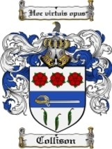 Collison Family Crest / Coat of Arms JPG or PDF Image Download - $6.99