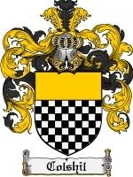 Primary image for Colshil Family Crest / Coat of Arms JPG or PDF Image Download
