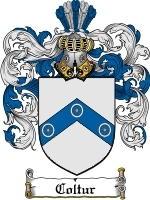 Primary image for Coltur Family Crest / Coat of Arms JPG or PDF Image Download