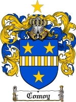 Primary image for Comoy Family Crest / Coat of Arms JPG or PDF Image Download