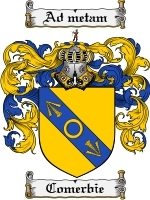 Primary image for Comerbie Family Crest / Coat of Arms JPG or PDF Image Download