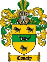 Primary image for Conaty Family Crest / Coat of Arms JPG or PDF Image Download