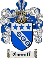 Primary image for Conniff Family Crest / Coat of Arms JPG or PDF Image Download