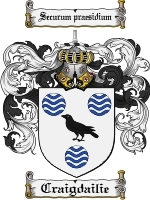 Primary image for Craigdailie Family Crest / Coat of Arms JPG or PDF Image Download
