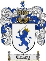 Primary image for Crary Family Crest / Coat of Arms JPG or PDF Image Download