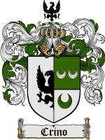 Crino Family Crest / Coat of Arms JPG or PDF Image Download