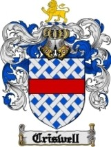 Criswell Family Crest / Coat of Arms JPG or PDF Image Download - $6.99