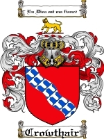 Primary image for Crowthair Family Crest / Coat of Arms JPG or PDF Image Download