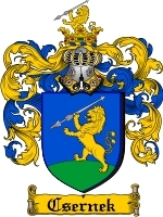 Primary image for Csernek Family Crest / Coat of Arms JPG or PDF Image Download