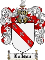 Primary image for Cullson Family Crest / Coat of Arms JPG or PDF Image Download