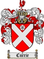 Currie Family Crest / Coat of Arms JPG or PDF Image Download