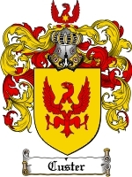 Custer Family Crest / Coat of Arms JPG or PDF Image Download