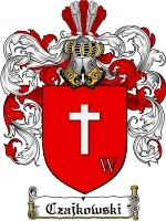 Primary image for Czajkowski Family Crest / Coat of Arms JPG or PDF Image Download