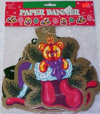 3 Christmas Banners - All NIP