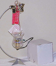 Electric Fairy Christmas Tree Glass 'Candle' Holder IOB - Taiwan for Silvestri - $9.99