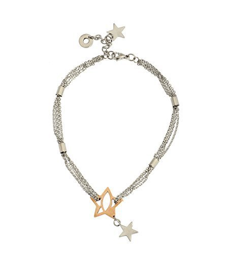 New JenniferLovey Rose Gold Plated Ankle Chain in Stainless Steel Star Model