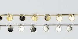 Women Anklet Gold Plated Handmade Chain Circle JenniferLovey Unique Gift - $59.16