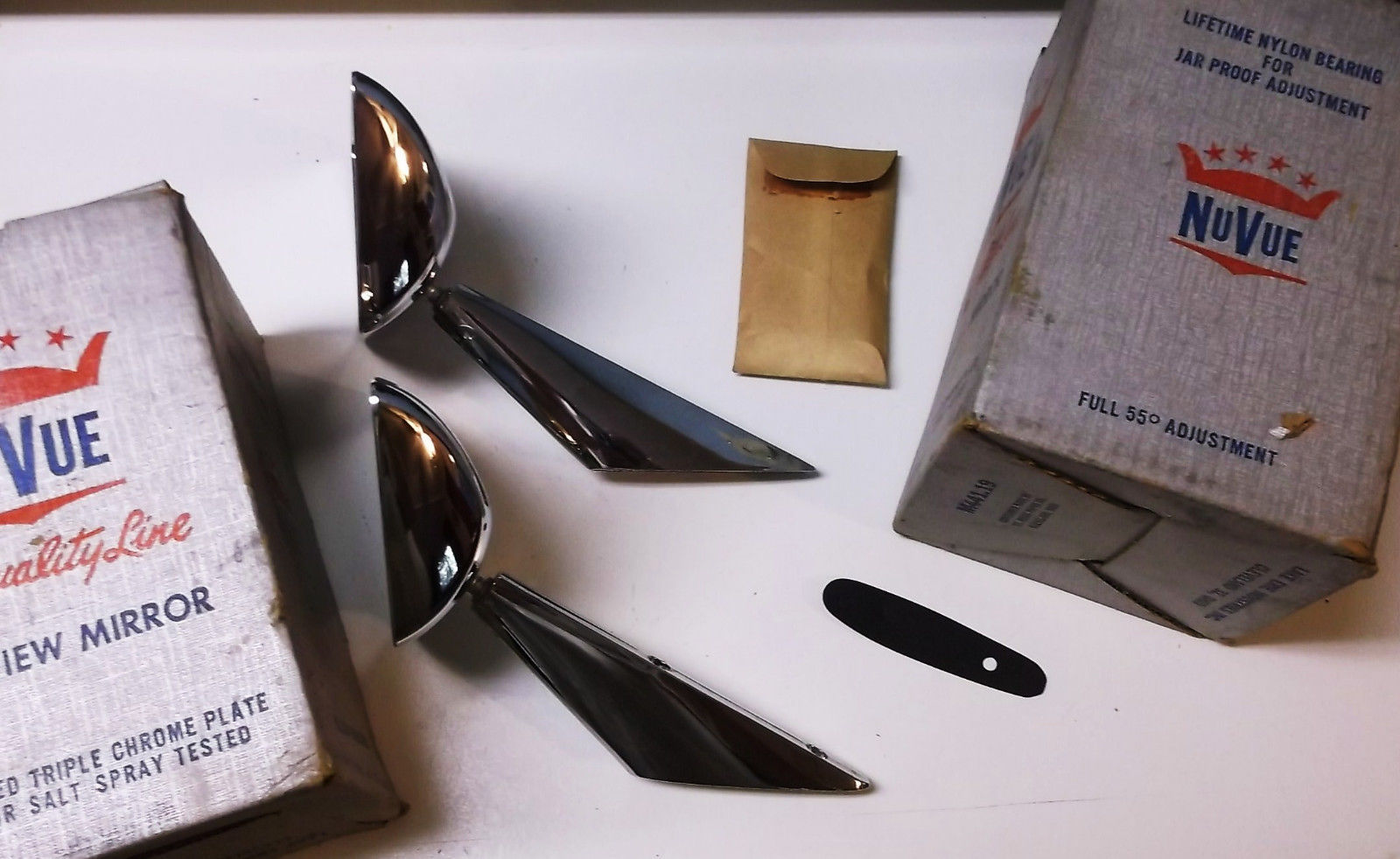 Vintage NOS Custom Mirrors 1950s 1960s Olds Buick Chrysler Ford Pontiac Chevy