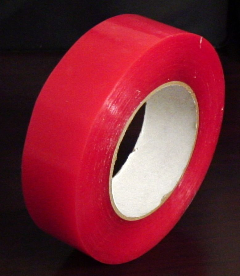 Roll 2-Sided P.S.A. Tape. Double-sided bonding tape for foam rails, casting deck