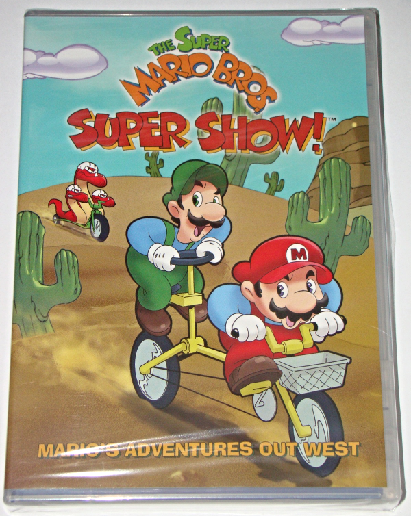 Primary image for THE SUPER MARIO BROS. SUPER SHOW! - MARIO'S ADVENTURES OUT WEST (New)