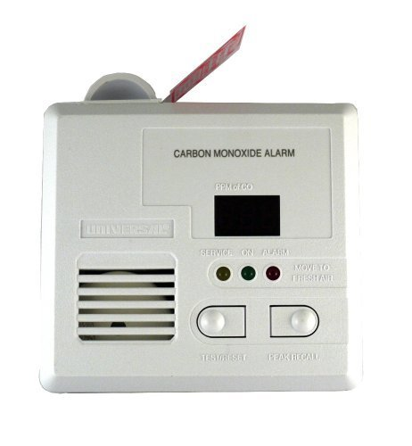 Universal Security Instruments CD-9690 3-LED Plug-In Carbon Monoxide Alarm with