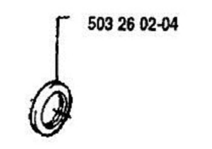 CRANKSHAFT SEAL SEALING RING HUSQVARNA 503260204 FIT +