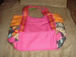 Vera Bradley Jazzy Blooms Small Colorblock Tote NWT - $33.99