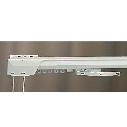 "KIRSCH 86"" - 150"" One Way Draw Adjustable Traverse Curtain Rod - Left"