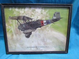 Pitcairn Mailwing PA-5 1927 Plane print by Bied... - $19.90