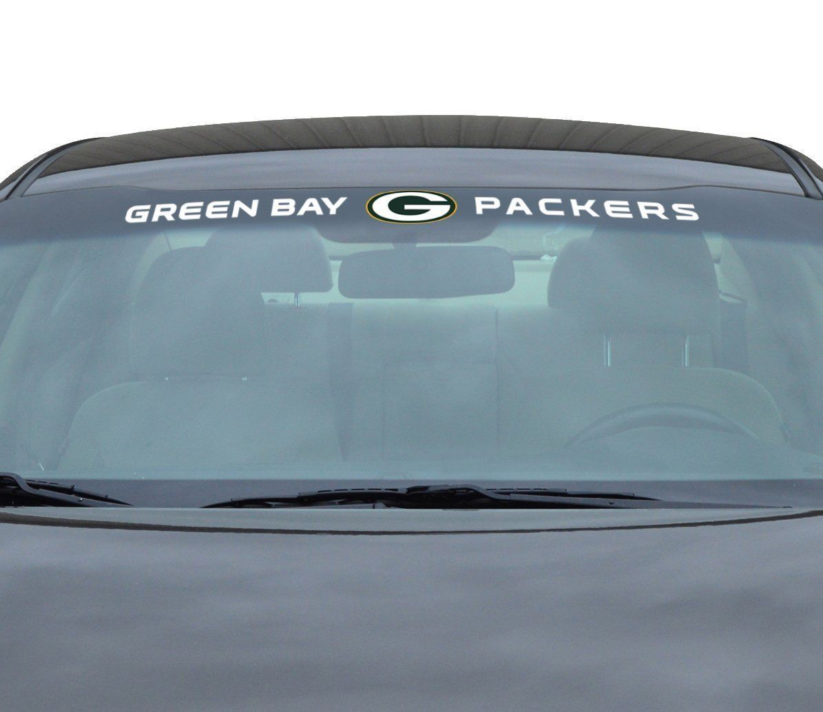 "GREEN BAY PACKERS 35"" X 4"" WINDSHIELD - REAR WINDOW DECAL CAR TRUCK NFL FOOTBALL"