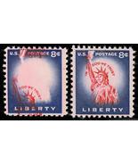 1041 Var 8 Cent LIBERTY Dramatic Vignette Color Shift Major Error - Stua... - $325.00