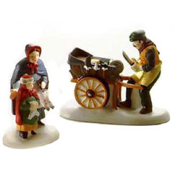 "Department 56 ""Knife Grinder"" New England Village-Accessories"