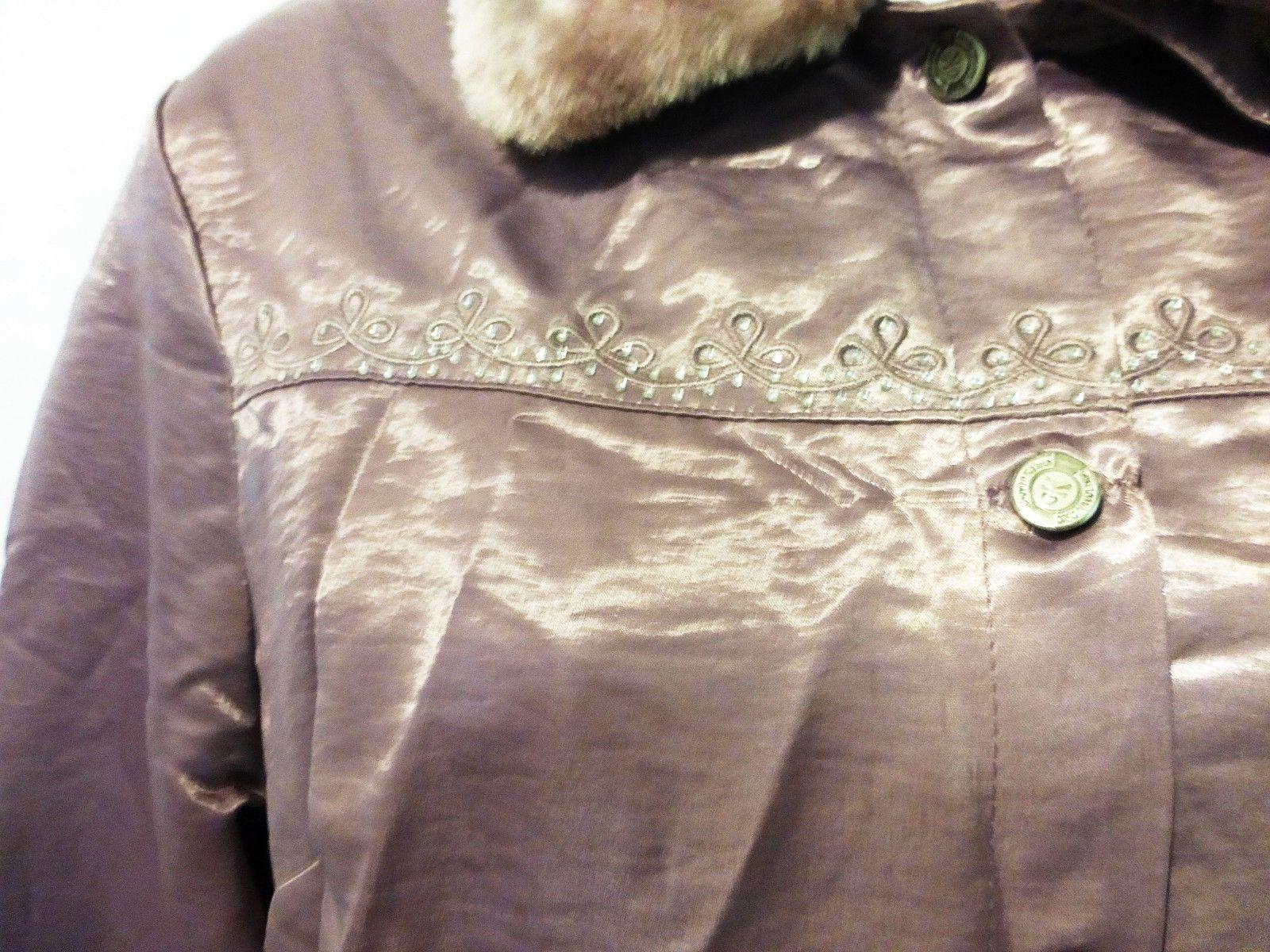 GK women jacket giovan kelvin original denim dar fure faux fur
