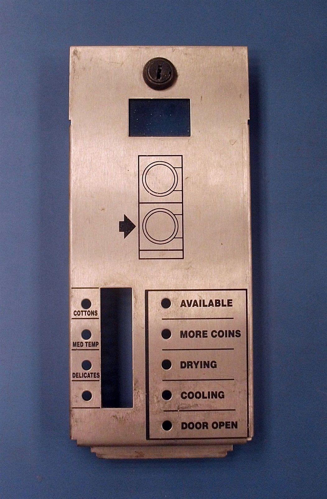 Huebsch Wascomat Speed Queen Lower Dryer Control Faceplate Model jtd32dg