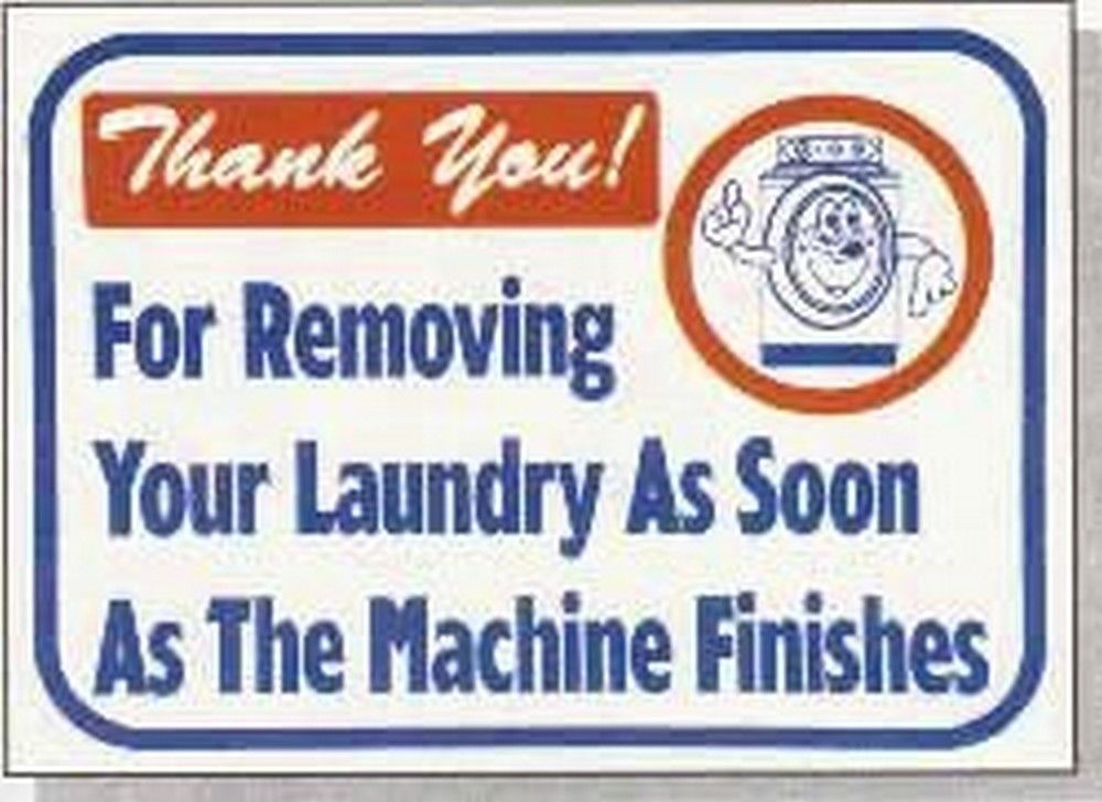 """L661 """"Thank you! For removing your laundry as soon as the machine finishes"""" Mode"""